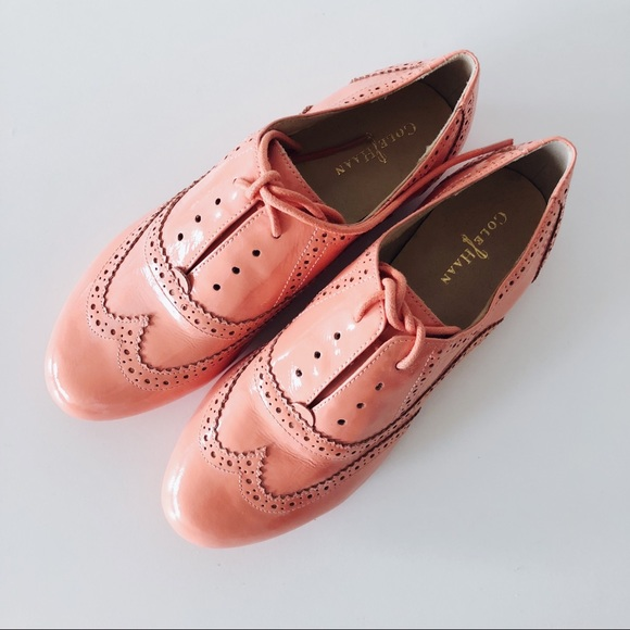 dfd774b1c91d Cole Haan Shoes - NEW Cole Haan Patent Leather Wingtip Oxfords 5.5